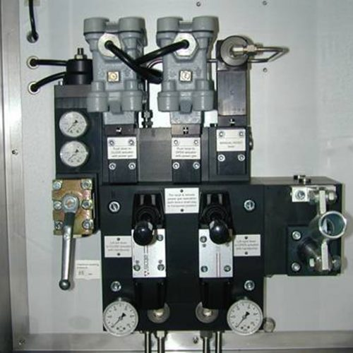 Control System with manual reset function